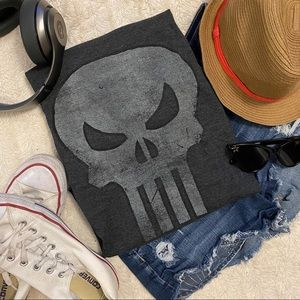 "Marvel Comics ""The Punisher"" Gray Tshirt"